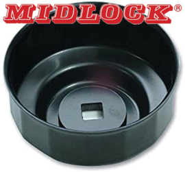 Oliefilterdop Midlock 1740, 76mm 14-kant