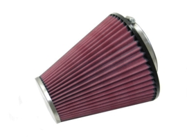 K&N RC-8450 cone air filter (chrome), universeel