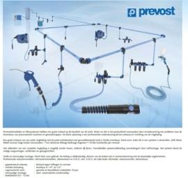 PREVOST ringleiding / pneumatisch netwerk
