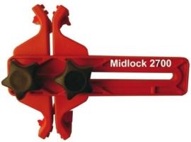 Multilock nokkenas blokkeer gereedschap