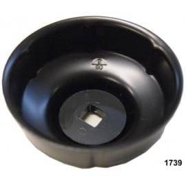 Oliefilter dop Midlock 66mm x 6