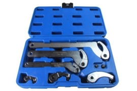 Kroonmoersleutel set, Weber tools