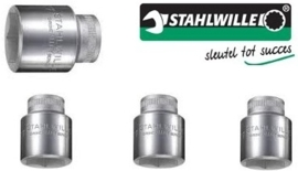 "Stahlwille vervangingsset 1/2"" 10,12,13 en 17mm"
