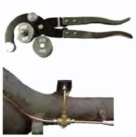 Midlock (Rem)leiding buigtang
