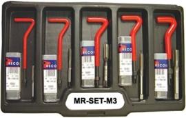Midlock recoil sets