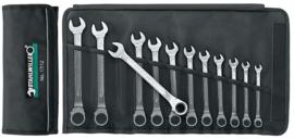 Stahlwille 17/12 steek-ring ratel sleutel set