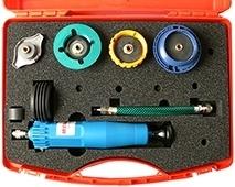 Midlock TE-120-S6 koelsysteem tester set, basis