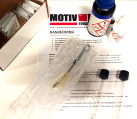 Koelvloeistof in olie detectie kit / Glycol detector kit