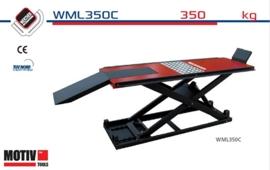 Werther WML350 motorfiets hefbrug, hydraulisch en/of pneumatisch