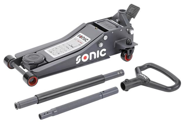 Sonic garagekrikken, 5 modellen van 1 tot 3 ton