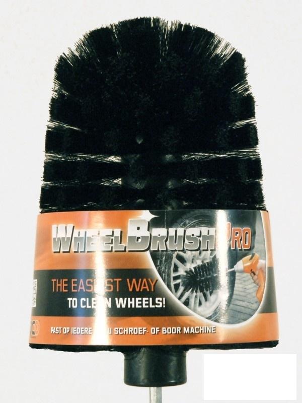 Wheelbrush PRO velgenborstel voor op de boormachine