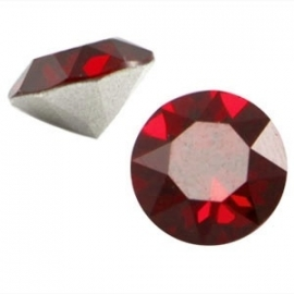 Swarovski Elements SS39 puntsteen (8mm) Siam Red