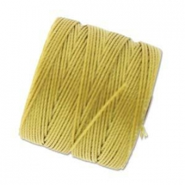 S-LON BEAD CORD LIGHT MAIZE