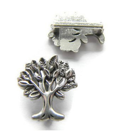 Schuif Kraal Levensboom voor 10mm plat leer