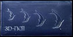 Mini Mal Dolfijntjes Transparant