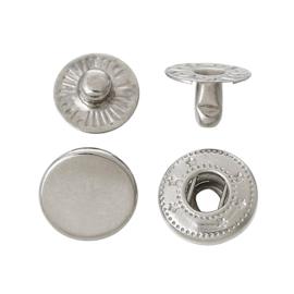 Leder drukknopen 10mm dia (10 sets)