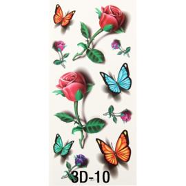 Tattoo's  3D-10