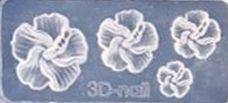Mini Mal Hibiscus Transparant