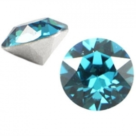 Swarovski Elements SS29 puntsteen (6.2mm) Indicolite Blue