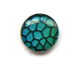 Dragon Skin 004, 25mm Glas Cabochon Rond