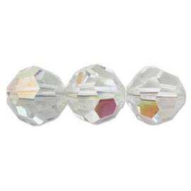Swarovski kralen rond 4mm Crystal AB (10st.)