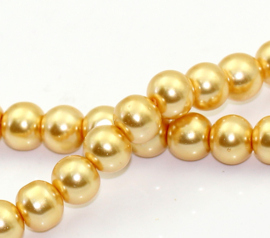 Glasparel Champagne Gold 8mm (Per streng)