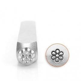 Design stempel Flower Burst 6mm ImpressArt