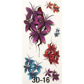 Tattoo's  3D-16