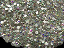 Rhinestone Flatback  SS12 Crystal AB 3mm