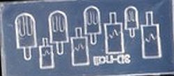 Mini Mal IJsjes en Flesjes Transparant
