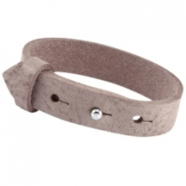 Cuoio Armband Leer 15mm Soft Terra Brown