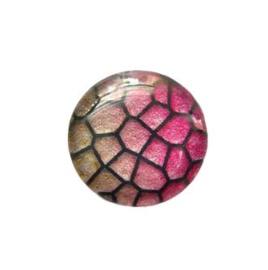 Dragon Skin 012, 25mm Glas Cabochon Rond