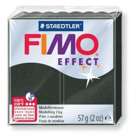 Fimo Effect  Parelmoer Zwart No.907