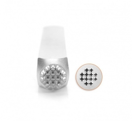 Design Stempel Small Cross Texture 6mm ImpressArt