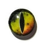 Dragon Eye 007, 16mm Glas Cabochon Rond