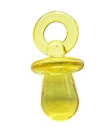 Bedel Fopspeen Geel 31x15mm