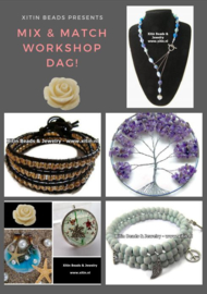 Workshop dag Mix & Match met ochtend en middag workshop