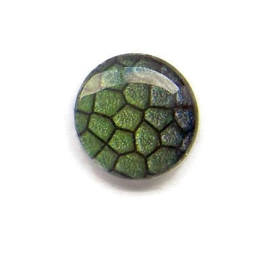 Dragon Skin 006, 25mm Glas Cabochon Rond