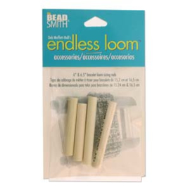 Endless Loom 2 sets maatstaven voor kleinere armbanden (15,2 en 16,5cm)