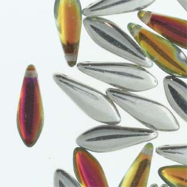 Dagger Bead  Backlit Tequila  5x16mm (25st)