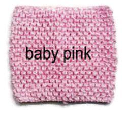 Gehaakte Top Baby Pink S  (maat 50 t/m 80)