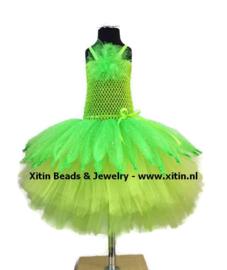 Tule Tutu Jurk Green Fairy (maat 98-116)