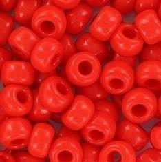06-407 Miyuki Opaque Vermillion Red 6/0