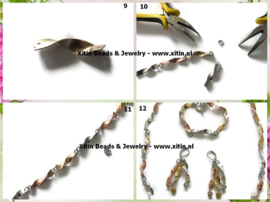 Tutorial Tricolore Twisted Metals Jewelry Set