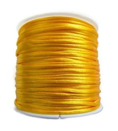 Satijnkoord Marigold 1mm dik