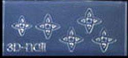 Mini Mal Figuurtjes 2 Transparant