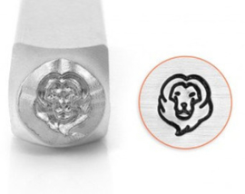 Design Stempel Lion Head 6mm ImpressArt