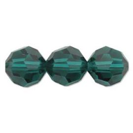 Swarovski kralen rond 4mm Emerald (10st.)