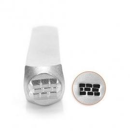 Design stempel Brick Pattern 6mm ImpressArt