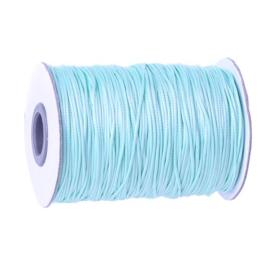 Koreaans Polyester Waxkoord Baby Blauw 1,5mm